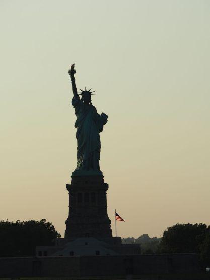 ...et la non moins fameuse Statue de la Liberté