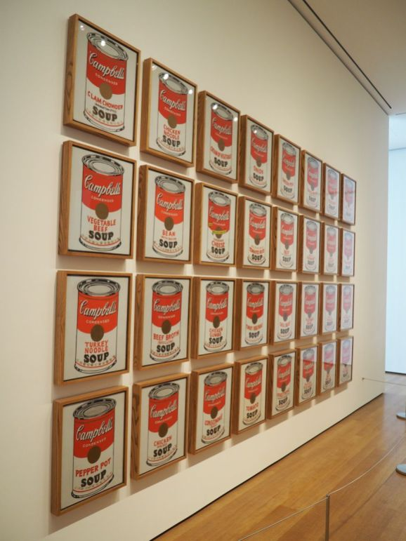 Andy Warhol : les soupes Campbell