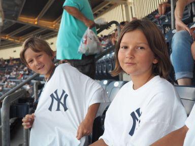 Soir de match au Yankee Stadium !