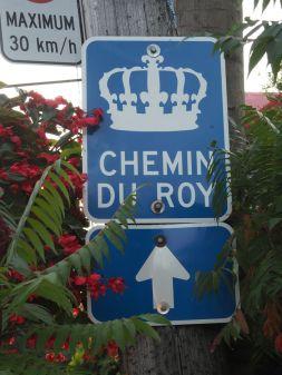 ... Sur la véloroute qui longe le St-Laurent