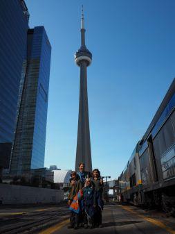 Arrivée à Toronto