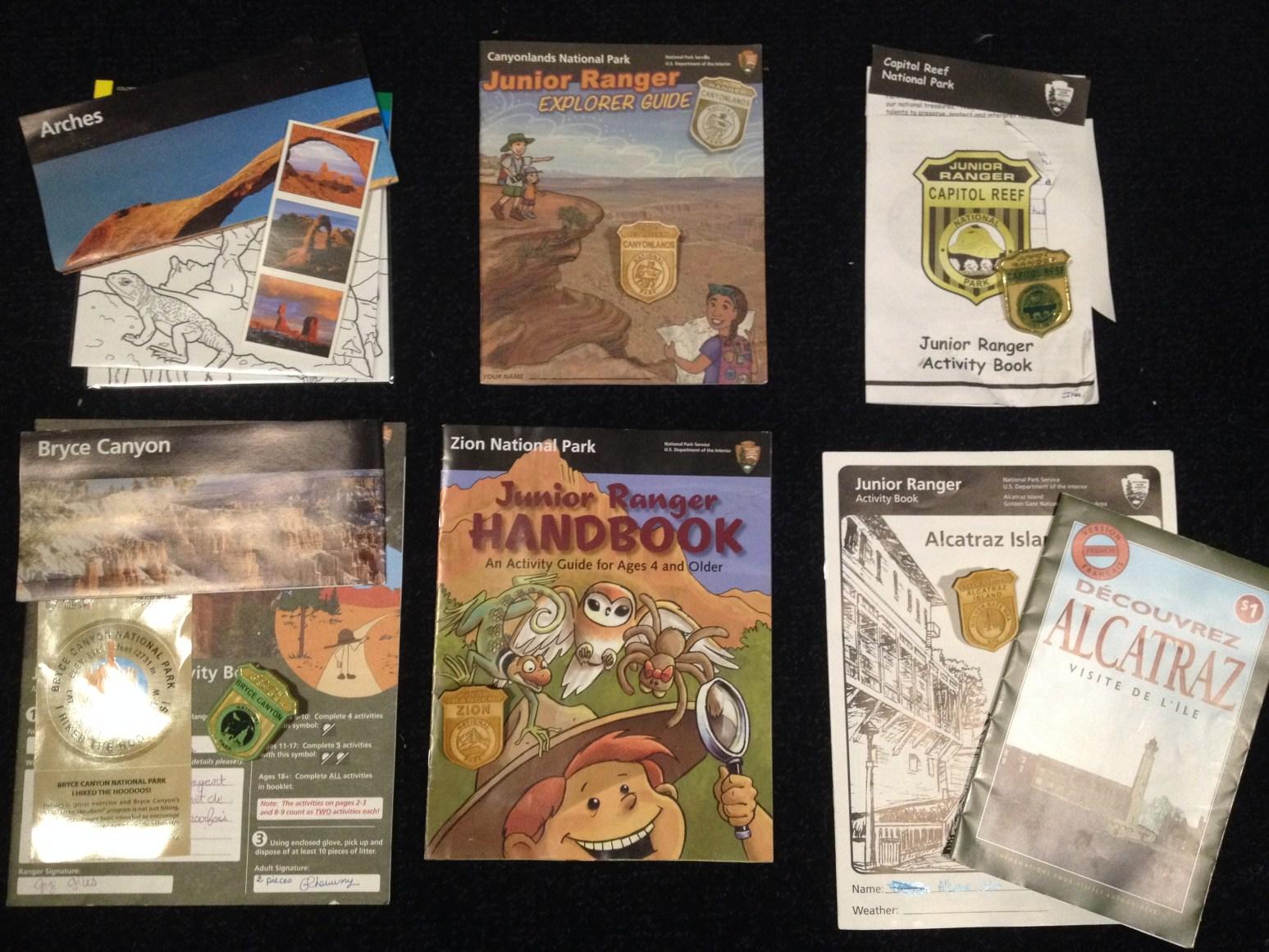 Et voilà notre belle collection de badges!