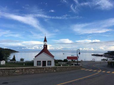 La baie de Tadoussac (voir article de Joseph sur les baleines)