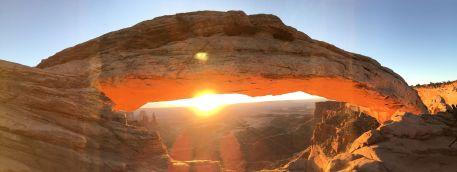 Derrière Mesa Arche