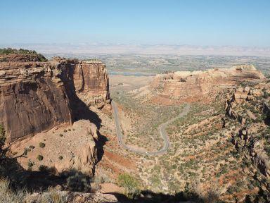 Premiers contacts avec le plateau du Colorado époustouflant
