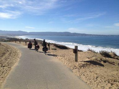 Le vélo à la plage, un paradis pour les enfants !