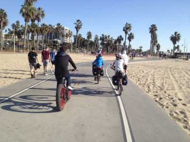 En passant vers Venice beach