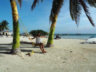 Repos sous les cocotiers