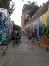Visite du quartier mission et de ses fresques murales