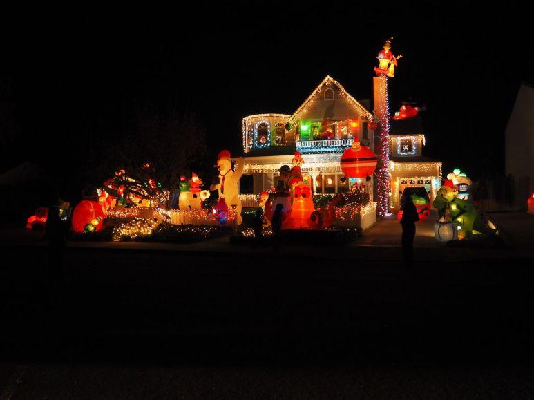 Visite des illuminations de Noël