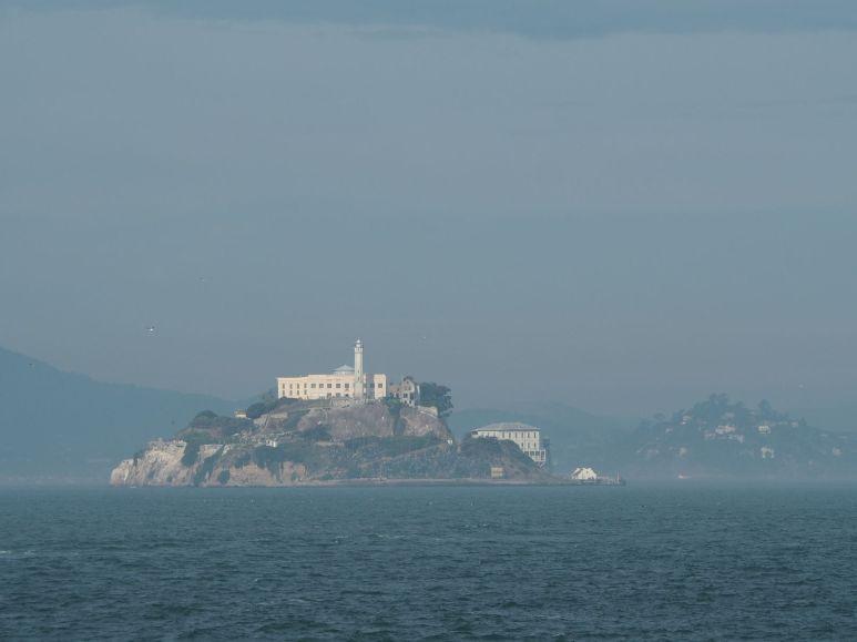 """Puis nous allons visiter """"the rock"""", la prison d'Alcatraz"""