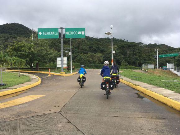 Retour au Mexique sous la pluie