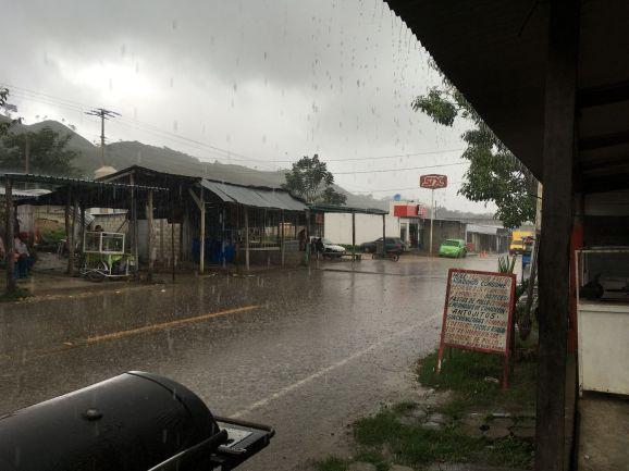 Une vraie belle pluie torrentielle !