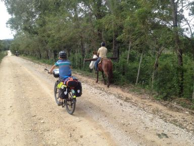 Le cheval est très utilisé par ici