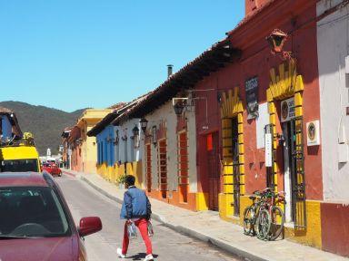 Des rues colorées
