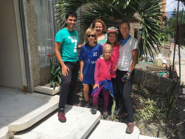 Un immense merci à Alejandro et Angelina pour leur accueil !
