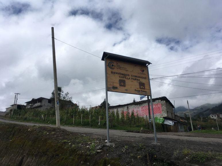 Beaucoup de communautés indigènes dans cette zone