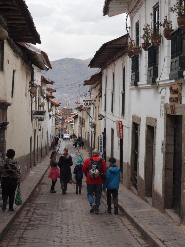 Et c'est parti pour la visite de Cusco et ses environs riches en vestiges incas...