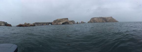 Le groupe d'îlots est à 20 km de la côte