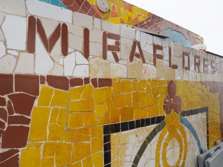 Nous avons élu domicile dans le quartier de Miraflores