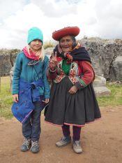 Les descendants des incas ne sont pas bien grands mais ils sont funs: V !