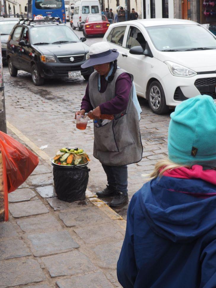 Plein de petits boulots dans les rues