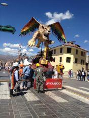De retour à Cusco c'est encore la fête