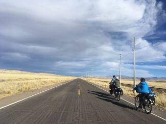 L'altiplano: c'est haut et ...c'est plat. Et c'est beau !