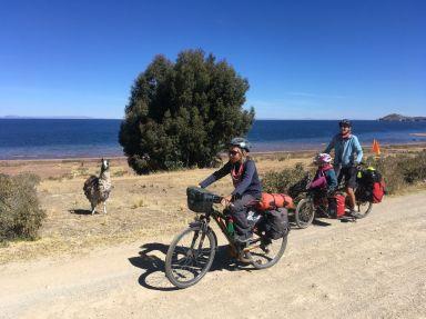 Derniers tours de roue en compagnie des lamas péruviens