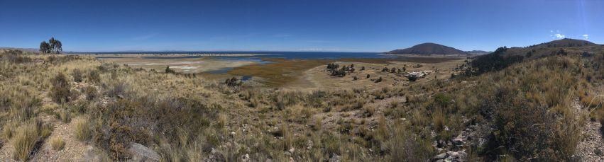 Une vue à 270° sur le Titicaca