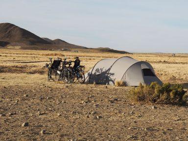 Campement chez des paysans