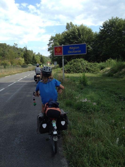 ... En arrivant en Occitanie !