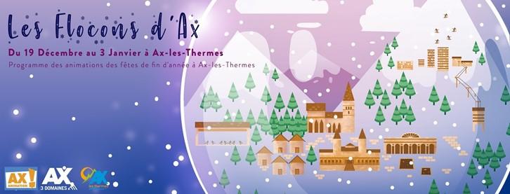 affiche du marché des Artisans d'Ax-les-Thermes