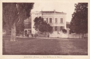 Ancienne école-mairie années 1940