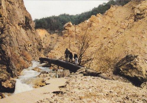 Boulc Route des Roches Eboulement