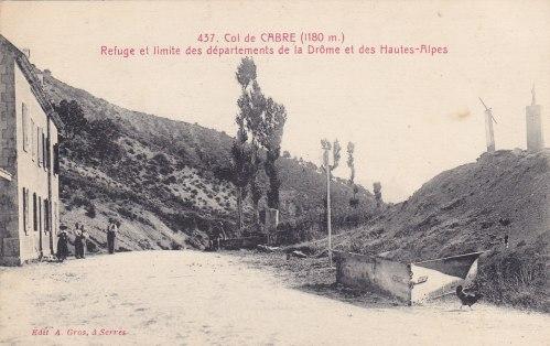 Col de Cabre et le télégraphe Drôme