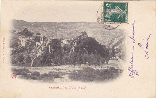 Beaumont-en-Diois Haut village