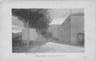 Beaurières Avenue du col de Cabre