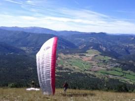 le parapente se déploie Le Puy