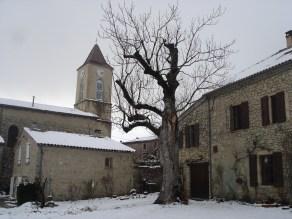 Le Charel et l'église