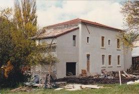 Rénovation école Lesches 1997