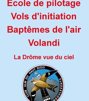 Les Engoulevents club ULM du Haut-Diois