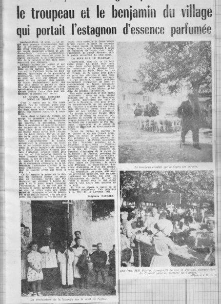 15.08.1958 Dauphiné Libéré
