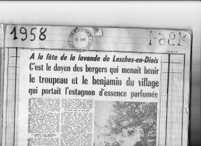 15.08.1958 Titre du DL