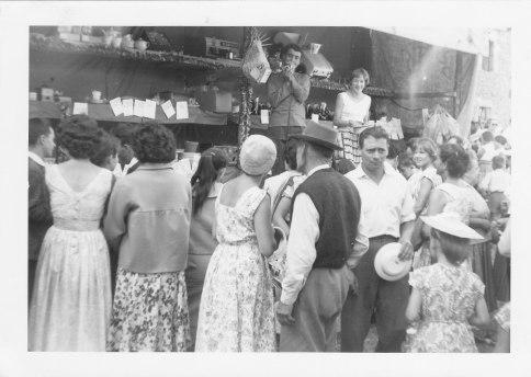 Stand de la loterie 15.08.1961