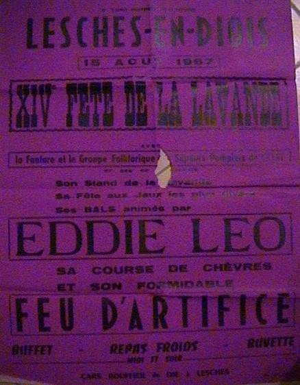 15.08.1967 Affiche
