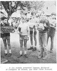 15.08.1970 Les enfants, l'agneau et l'estagnon
