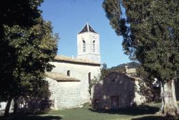Ancien clocher de l'église