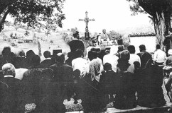 15.08.1964 Messe et le Père Froment