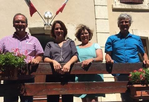 Visite de Célia Lavergne à Lesches-en-Diois